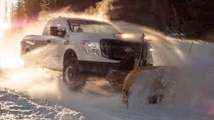 100 Snow Plow Trucks For Sale 2018 Nissan Titan XD Takes On Winter With Pack