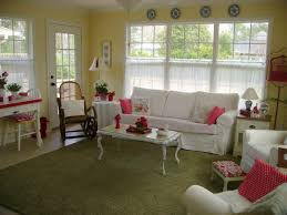 Yellow Sunroom Ideas With Terrific Appearance For Basement Design