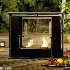Portable Outdoor Fireplace Portable Indoor Outdoor Fireplace Full