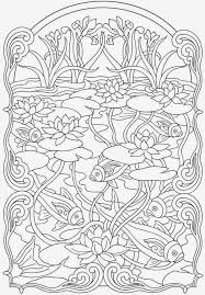 Koi Fish Coloring Pages Anti Stress For Adult