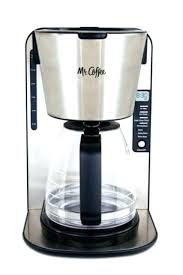 Mr Coffee Maker 4 Cup Stainless Steel