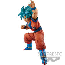 DRAGON BALL SUPER SAIYAN GOD GOKU BIG SIZE FIGURE OVERSEAS LIMITED