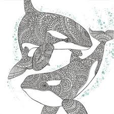 Animal Zentangle Coloring Pages
