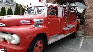 1951 Ford Firetruck - Antique Pump Truck - Great Shape - Runs!
