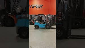 100 Nissan Lift Trucks 2018 VIPER FY25 5000LB FORKLIFT NISSAN ENGINE 3 STAGE CERAMIC BLUE