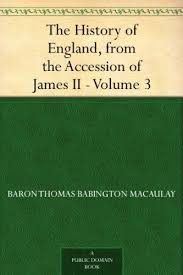 The History Of England From Accession James II