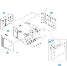 rm2 6044 000cn hp new 1 500 sheet feeder lifter drive assembly