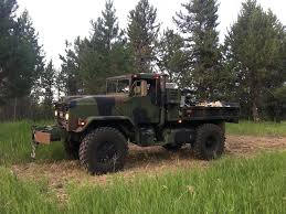 BMY 5 Ton, Military Truck Bobbed 4X4 - Claz.org