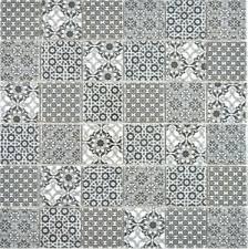details zu keramik mosaik schwarz weiss mosaikfliese wand fliesenspiegel küche bad