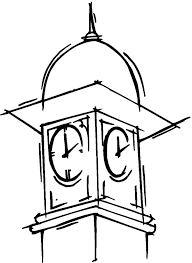 Big Ben Clock Tower Coloring Pages