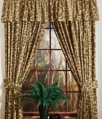 Animal Print Window Curtains Foter