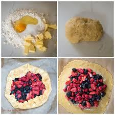 Spelt Rustic Tart With Berries