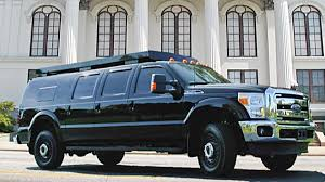 100 Truck Limos We Have More Info On The Presidential Motorcades New SatcomPacking