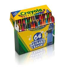 Crayola Bathtub Crayons Collection by Amazon Com Crayola Ultra Clean Washable 64 Count Crayons Toys