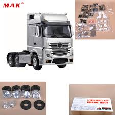 100 Truck Axles 114 RC 3 Triaxial Tractor Car Parts And Accessory 3
