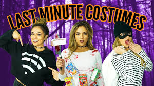 Youtube Carli Bybel Halloween by Last Minute Diy Halloween Costumes Hacks Bethany Mota Makeup