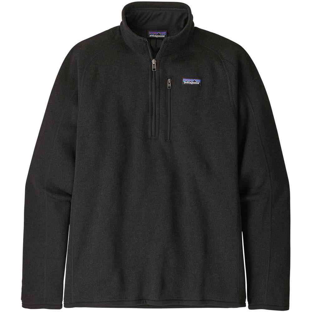 Patagonia Better Sweater 1/4 Zip Men's- Black