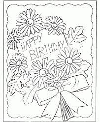 Children Free Printable Coloring Birthday Cards Fresh In Set Within For