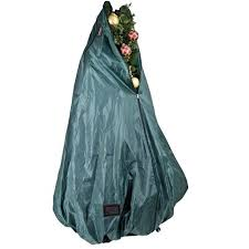 Christmas Tree Storage Bag Alternative Views Upright With Wheels