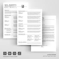 Gariel Masarena Resume Template Poster Design Inspiration Ideas