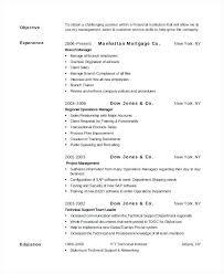 Sample Template Retail Banking Resume Banker