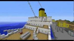 Minecraft Titanic Sinking Map by Minecraft Titanic Youtube