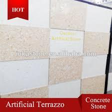 Chinese Manmade Concrete Stone Terrazzo Flooring