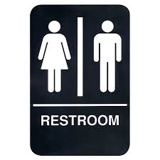 Gender Inclusive Bathroom Sign by Gender Identity Discrimination In Public Accommodations