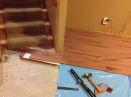 Floating Floor Underlayment Basement by Laminate Flooring In Basement