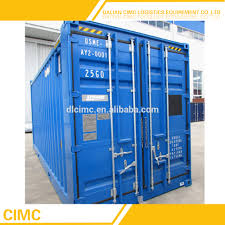 100 20 Foot Shipping Container For Sale Plt606a Cimc Brand New Feet High Cube S Buy New New New