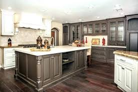 Grey Tile Kitchen Floor Dark Floors Cabinets With Light And Ideas For