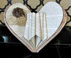 53 Creative Craft Ideas Using Book Pages