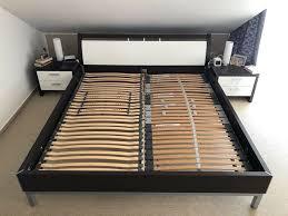 nolte schlafzimmer bett 180x200 2 nachtschränkchen