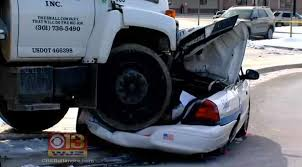 Dump Truck Driver Charged After Police Cruisers Are Rammed ...