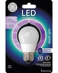 winter shopping s deal on ge led a15 4 5w warm white light