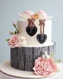 Rustic Engagement Cake Cupcake Cookies