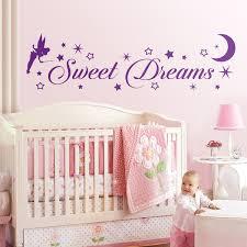 wandtattoo kinder tinkerbell süße träume auf englisch