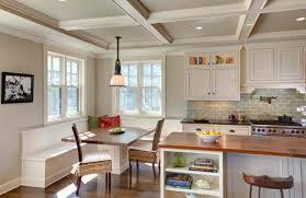 esstisch mit stühlen in der küche gemütliche essecke gestalten