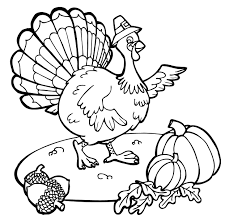 Coloring Pages Thanksgiving Free Printable For Kids To Print