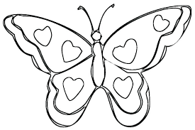 Butterfly Coloring Pages For Kids Cute Printable To Print