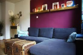 wohnzimmer in satten farben in stuttgart west wohnung in