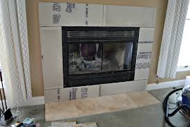 tiled fireplace wall prepping the fireplace walls for tile