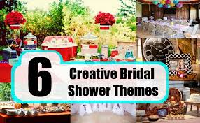 creative bridal shower themes best ideas for bridal shower