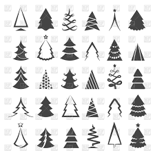 Christmas Tree Vector Art Christmas Tree Art Free Vector Art 12121