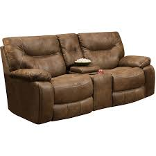 Darrin Leather Reclining Sofa With Console by Reclining Console Sofa Sofa Nrtradiant