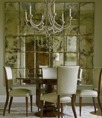 Mirror In Dining Room Over Buffet Decorative Mirrors For