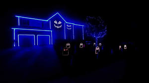 Naperville Halloween House A Youtube by Halloween Orange Halloween Lights Outdoor Thunder And Lightning