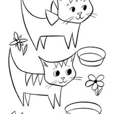 Cat Coloring Pages Free And Printable