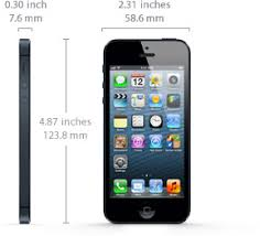 How Long is the iPhone 5 Screen Dimensions