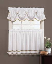 Window Art Tier Curtains And Valances by Amazon Com Kate Elegance Kitchen Curtain Tier Pair 57